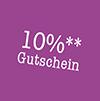 10% Gutschein
